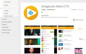 Swagbucks Watch (TV) App Review: A Scam Or A Legit