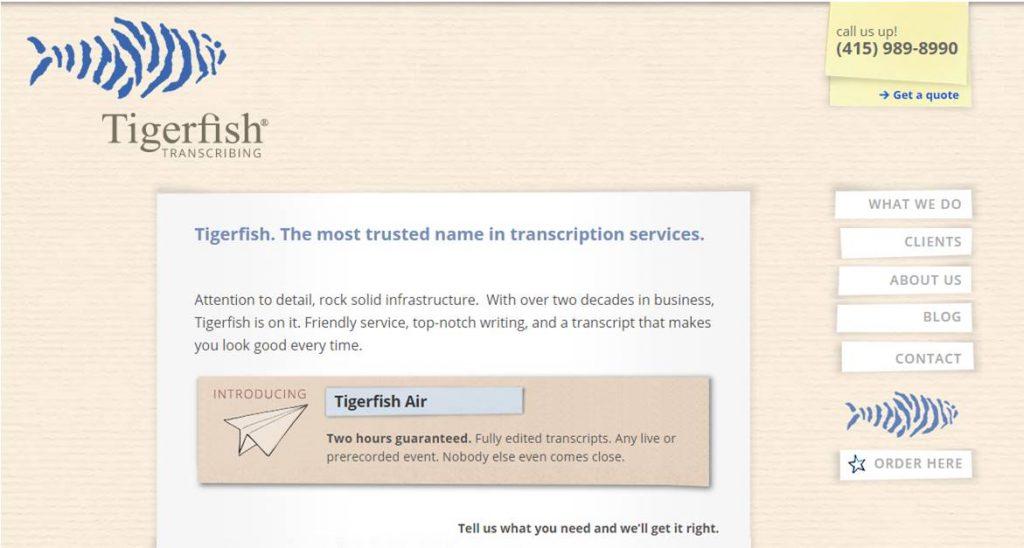 Tigerfish Transcription Job Review A Scam Or A Legitimate