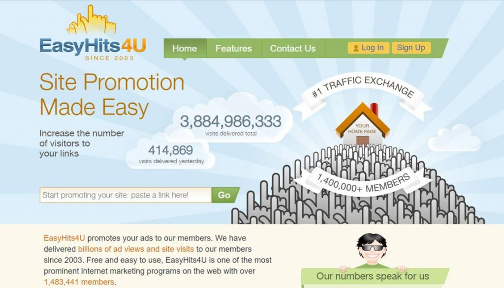 EasyHits4U Review: A Legitimate Opportunity To Get Traffic