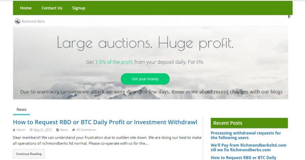 Website scam review
