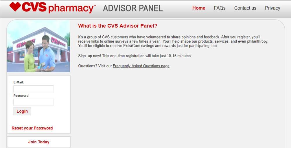 Pleasing Cvs Advisor Panel Review A Legit And Good Survey Site To Download Free Architecture Designs Saprecsunscenecom