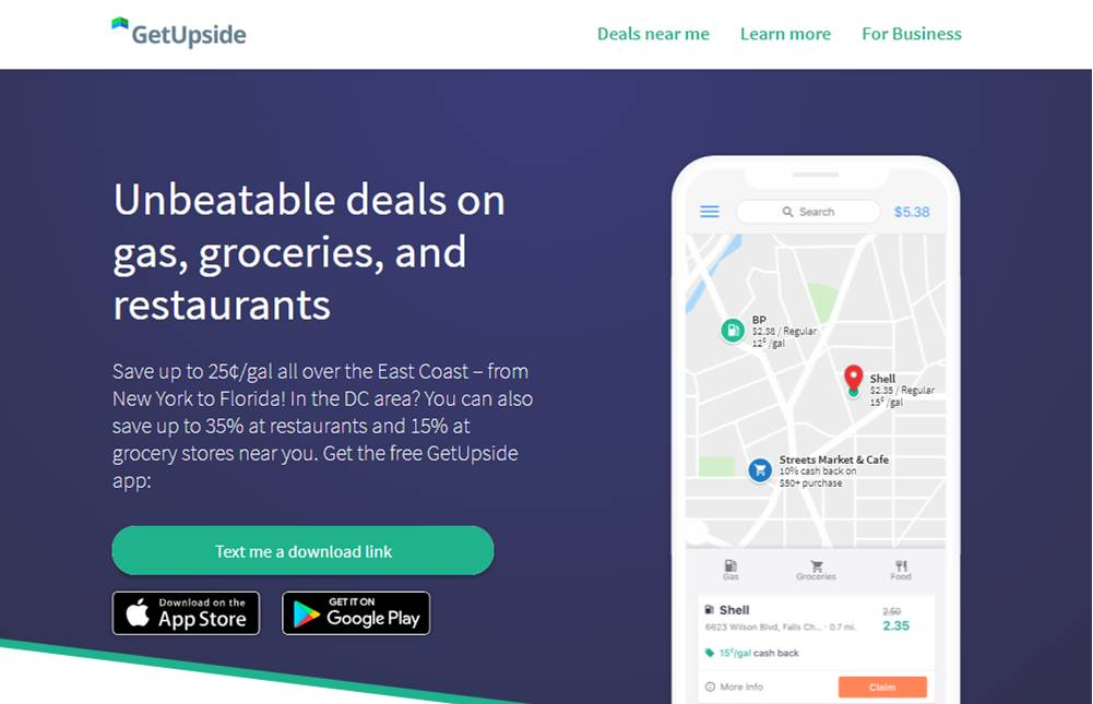 GetUpside App Review