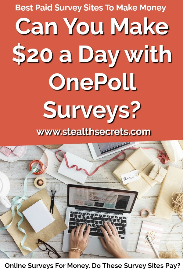 OnePoll Review: A Legitimate Opportunity To Make Money
