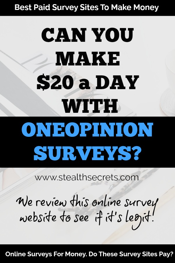 OneOpinion Review: A Legit Way To Make Money Answering Surveys And