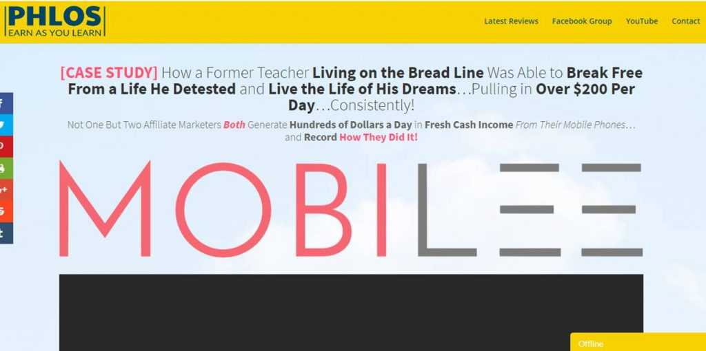 Mobilee Review: Legit Affiliate Marketing Training That Can