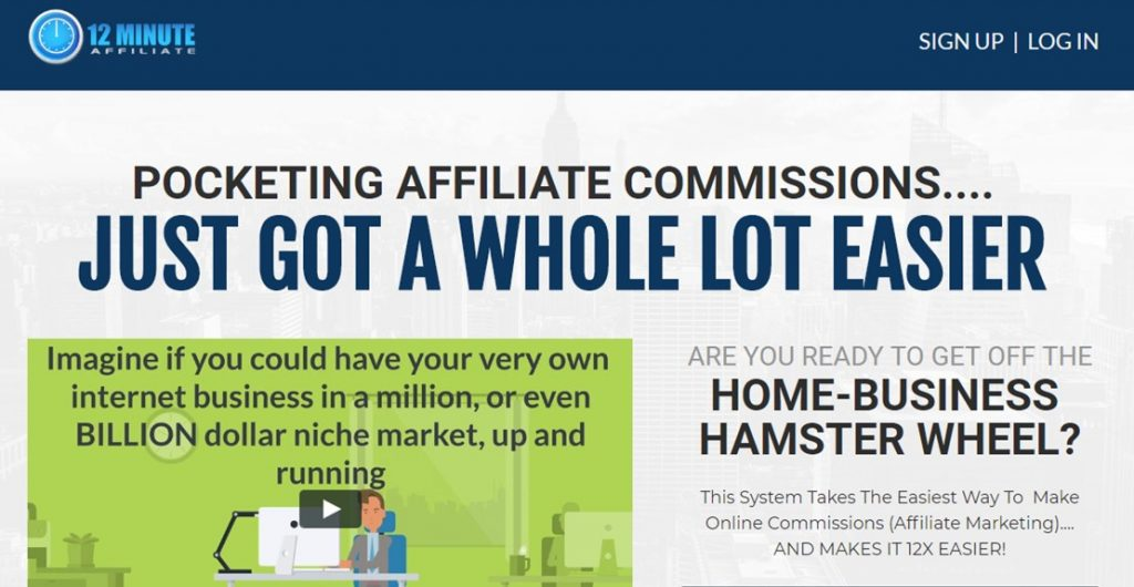 Best 12 Minute Affiliate System  Affiliate Marketing For 800