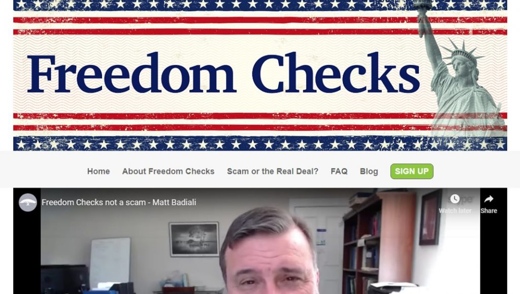 What Is Freedom Checks