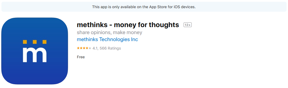 Methinks App Review