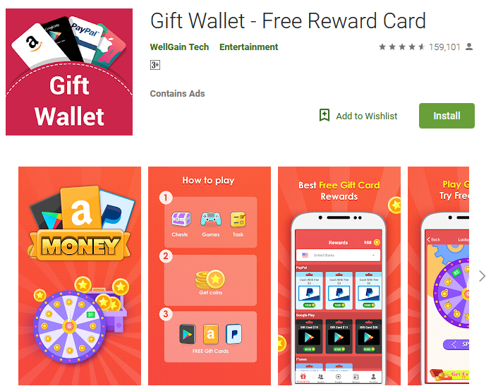 Gift Wallet Review