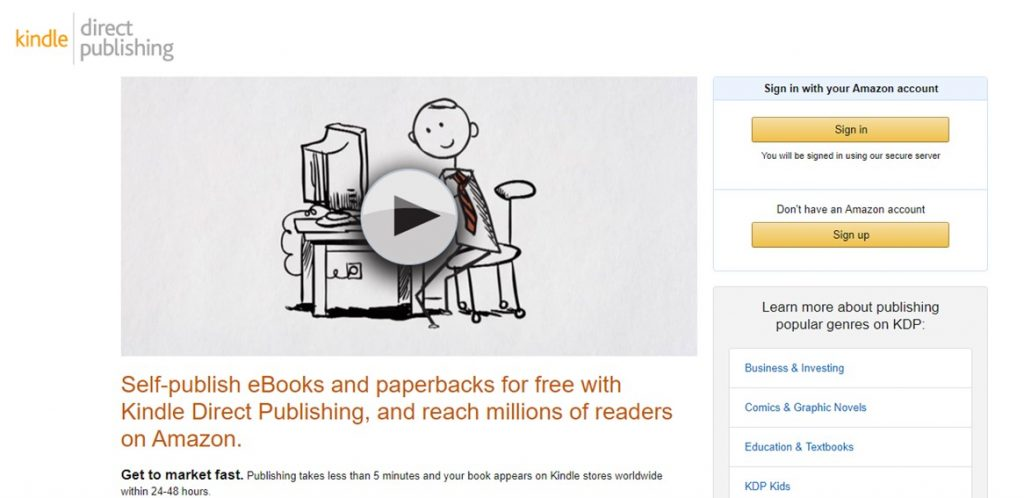 KDP (CreateSpace) Review: Is It A Legit Opportunity For Authors To