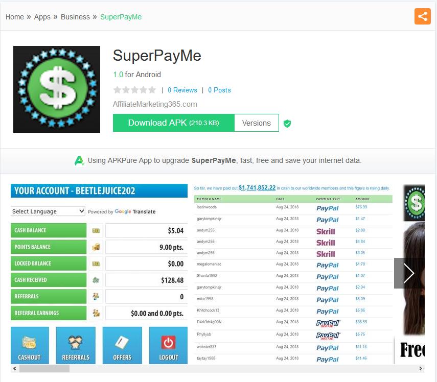 SuperPayMe App