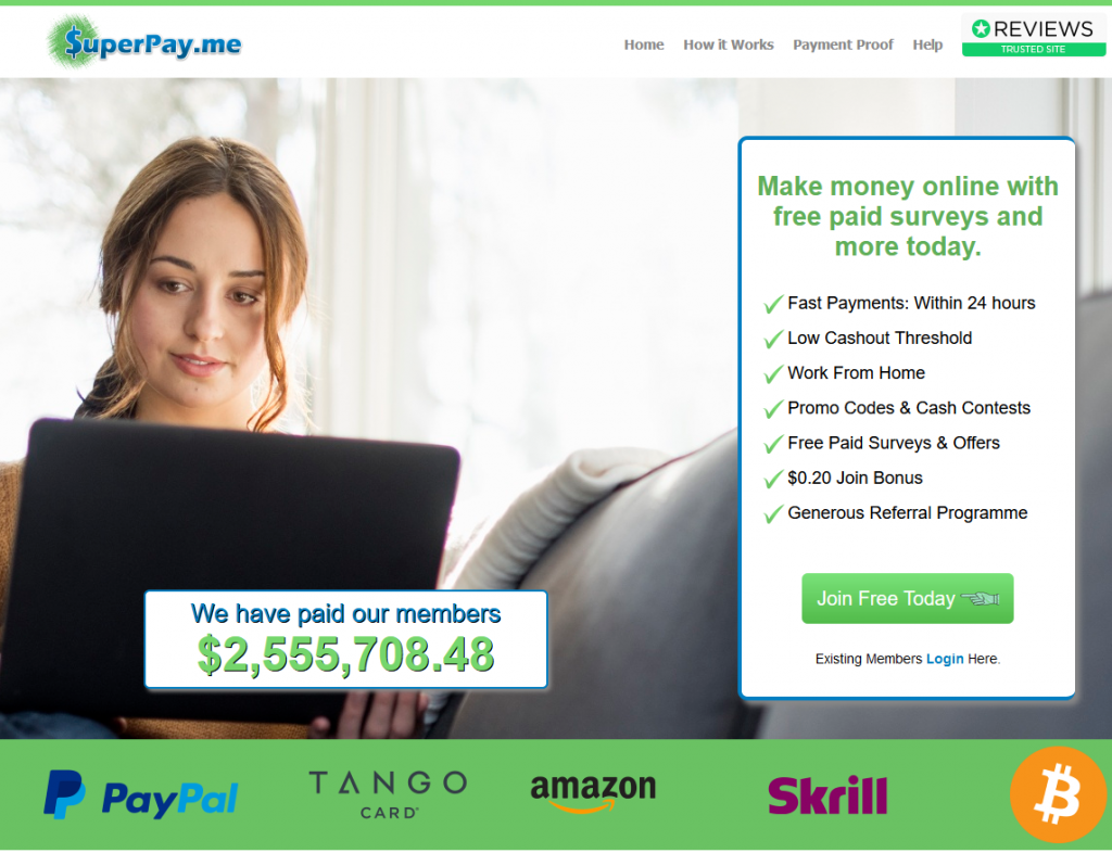 SuperPay Me Review: Is It a Legit Get-Paid-To Website or a